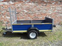 Refurbished Car Trailer, All New Wood, Finished to a high standard