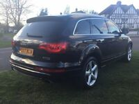 Audi Q7 S LINE 2007 left hand drive ONLY £13495