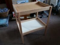 Baby Changing table Used