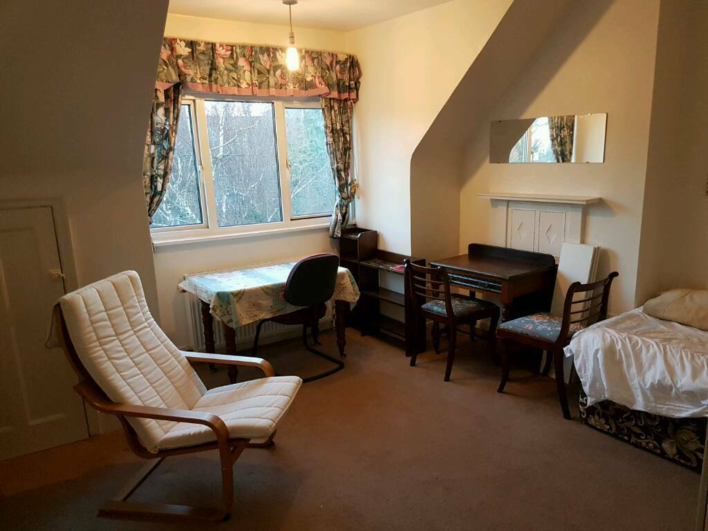 Large SINGLE room IN stunning SAFE home. BILLS INC.NW11