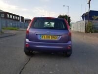 2008 ford fiesta Ghia, 5 door, automatic, petrol, complete services history, mot till March 2019