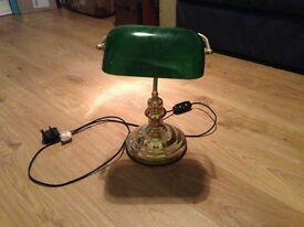 Traditional desk lamp