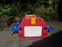 Childrens outdoor sand & warer trays