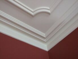 Plaster Cornice for sale £9 per metre & Ceiling Roses