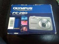 Olympus fe-280 digital compact camera