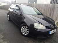 Vw golf 1.6 sport petrol 5dr mk5 good condition