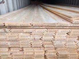 New timber t&g flooring 15 ft