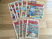 Vintage Dandy comics