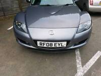MAZDA RX8 2008 TITATIUM GREY COLOUR