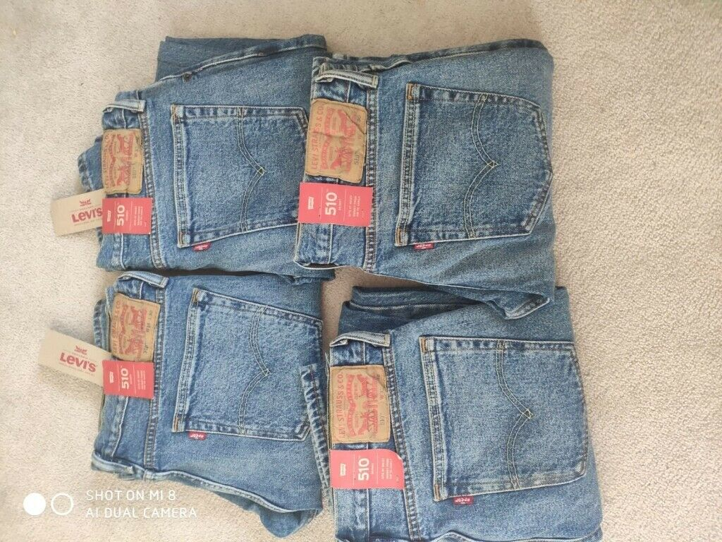 LEVIS 510 SKINNY JEANS FOR MEN NEW DIFFERENT SIZES | in Reading, Berkshire | Gumtree