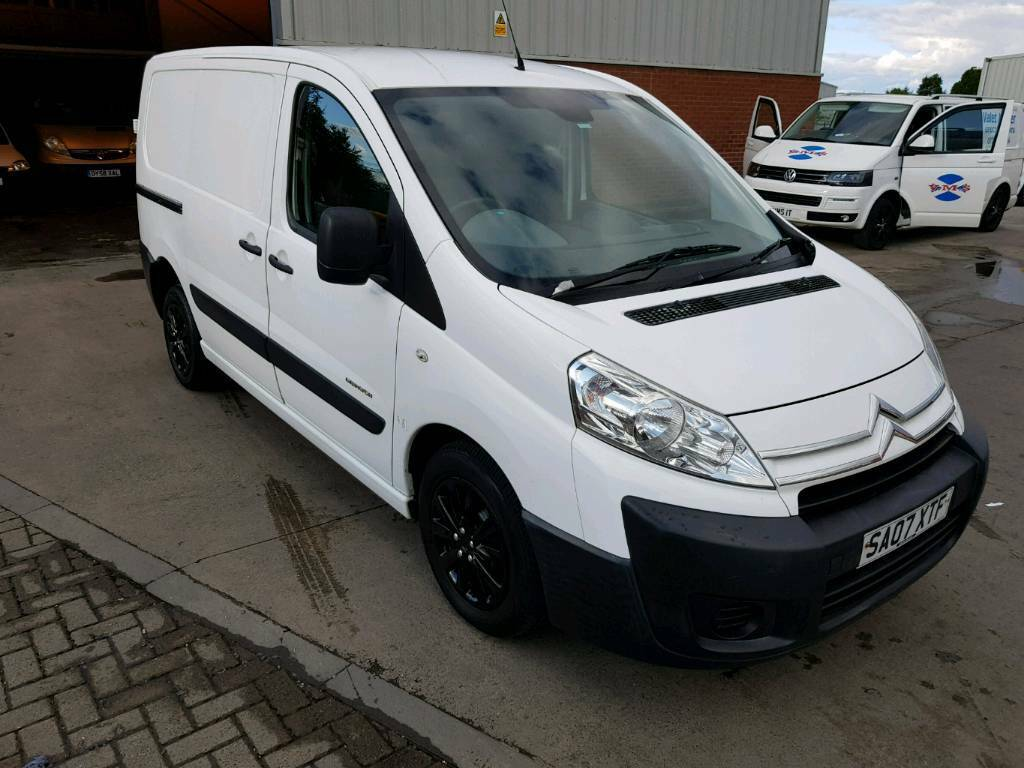 citroen dispatch kombi van  transit vivaro traffic size