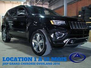 2016 Jeep Grand Cherokee Overland DIESEL CUIR TOIT NAV LOCATION