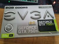 EVGA GTX 750 Ti 2GB BOXED