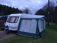 Dorema size 5 caravan awning