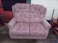 2 seat Fabric Sofa Delivery Available £7.50