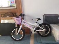 Ridgeback Honey (14) girls bike suit 5 year old learner
