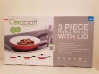 Ceracraft frying pan set