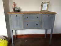 Shabby Chic Side Table/Sideboard