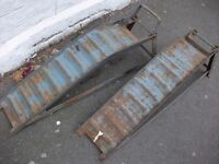 Pair Of Car Vehicle Ramps - Used