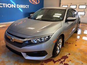 2017 Honda Civic LX AUTO/ BLUETOOTH/ REVERSE CAM/ HEATED SEATS!