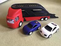 Little tikes car transporter lorry Ride On too!