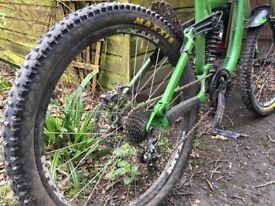 Kona operator dh downhill bike