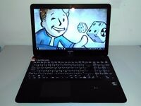 """GAMING SONY VAIO TOUCH SCREEN 15,6"""" - CORE i5 - QUAD CORE - WIN 10 - BACK LIGHT KEYBOARD - 8 GB RAM"""