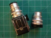 HASSELBLAD C FILM CAMERA / 2x 150 mm Carl Zeiss lenses / Polaroid Back / 2 x 120 backs