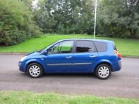 RENAULT GRAND SCENIC DYNAMIQUE 5 SEATS 11 MONTHS M.O.T