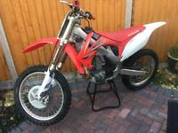 Honda CRF 450 r 2009 motorcross bike