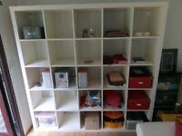 IKEA KALLAX bookshelves - 25 cube size unit