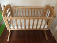 Baby Swinging Crib with Matters