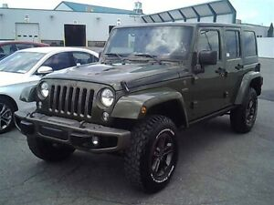 2016 Jeep WRANGLER UNLIMITED 75TH ANNIVERSARY LOADED