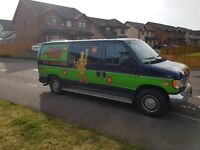 Mystery machine party van