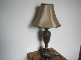Nice Wooden stand Side table Lamp