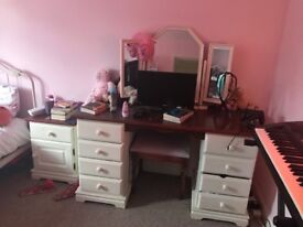 Dressing table and bed side tables