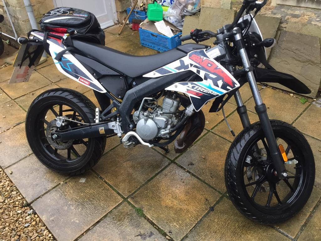 derbi senda extreme 50cc 2016 in cirencester gloucestershire gumtree. Black Bedroom Furniture Sets. Home Design Ideas