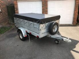 Stema Trailer 6x4 750Kg with spare wheel and cover