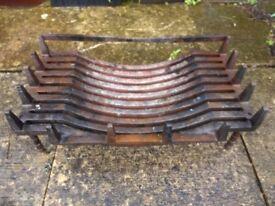 Fire basket - dog grate - cast iron