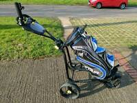 ICart Push golf trolley with swivel front wheel