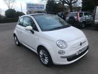 2014 FIAT 500 AUTOMATIC, 875CC, £0 ROAD TAX, 16500 MILES, FINANCE £151 PER MONTH, 6 MONTHS WARRANTY