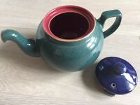 Denby Harlequin Teapot - Excellent condition