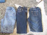 Girls 8-9 jean bundle