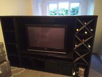 2 IKEA Kalax Shelving units for TV