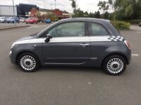 Fiat 500 1.2 Lounge in Tech House Grey For Sale