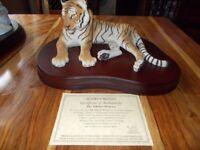 (Tibetan) Princess Tiger (Hand Painnted) (Cost £149)