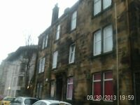 Unfurnished 1 bed flat in Paisley town centre