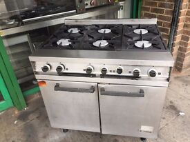 CATERING COMMERCIAL GAS COOKER OVEN CAFE RESTAURANT KEBAB CHICKEN BBQ KITCHEN FAST FOOD SHOP