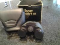NIKON SPRINT 111 10X21 CF BINOCULARS. prismes haute luminosite BAK4. compact. little used.