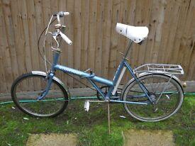 1970s Raleigh Stow-Away fold up bike